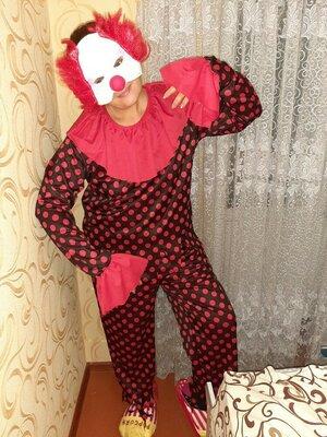 Карнавальный костюм клоун.