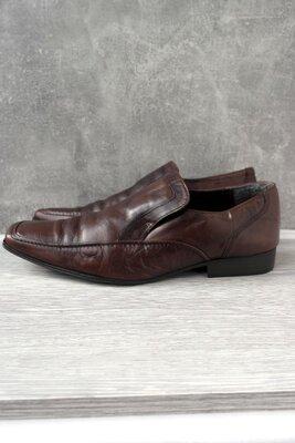 Брендовые классические кожаные мужские туфли Next . Размер uk10/ eur44.