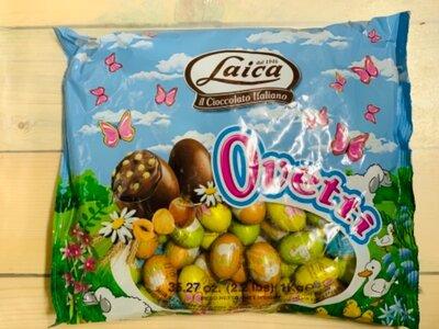 Продано: Набор шоколадных конфет в виде яичек Laica Ovetti 1 кг Италия