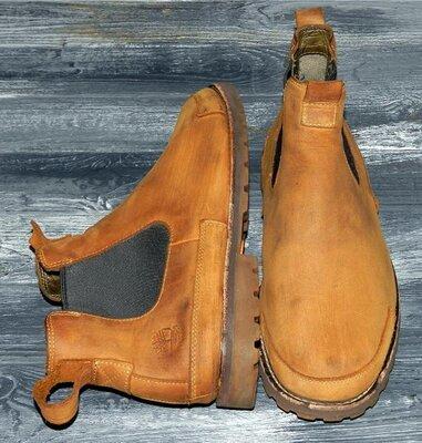 Timberland chelsea оригинальные,кожаные, стильные невероятно крутые ботинки