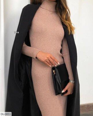Платье рубчик р42-46
