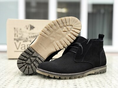 Зимние туфли 9991 Vankristi Натуральная замша