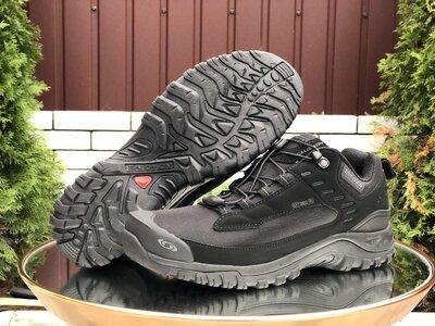 Мужские кроссовки 9985 Salomon soft shell термо
