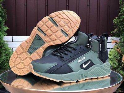 Мужские зимние кроссовки 9968 Nike Huarache
