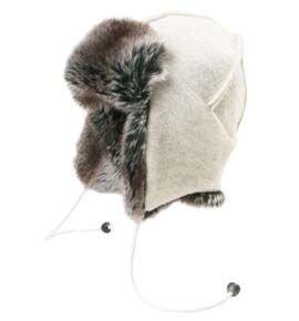Двусторонняя шапка ушанка шерсть 66 north kaldi arctic hat 58 62