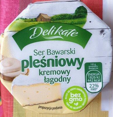 Ser Bawarski pleśniwy, kremowy łagodny - Delikate - 150 g