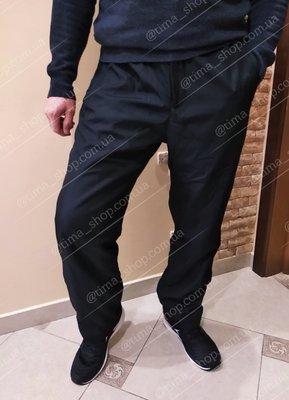 Теплые мужские штаны, брюки плащевка на флисе. Венгрия.