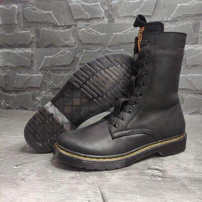 Мужские кожаные ботинки, берцы Dr. Martens air wair