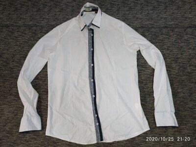 Красивая белая рубашка Италия 1959 torino