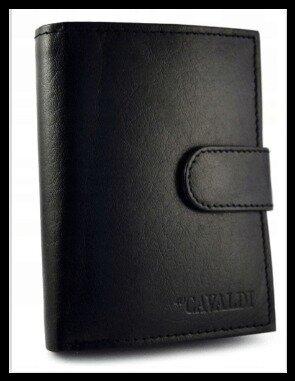 Кошелек мужской натуральная кожа CAVALDI с RFID защитой Польша код 601