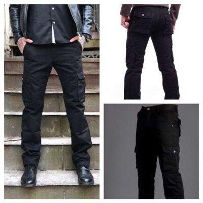Продано: Стильные мужские джинсы - карго. 29-36 р. На большой рост. Распродажа