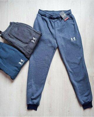 Мужские теплые спортивные штаны
