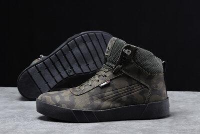 Зимние мужские кроссовки Puma Desierto Sneaker, хаки