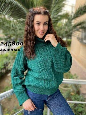 Женский свитер баталл 48 - 52