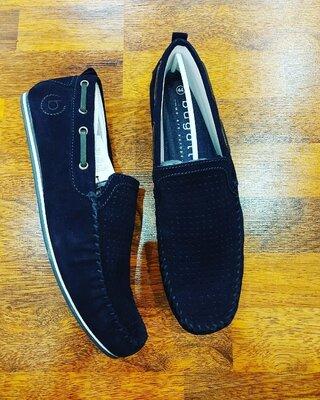 Замшевые туфли Bugatti 44eur