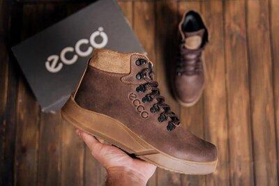 Мужские зимние кожаные ботинки Yurgen 434 кор