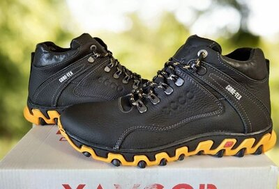 Мужские зимние ботинки, кожа р. 40-45