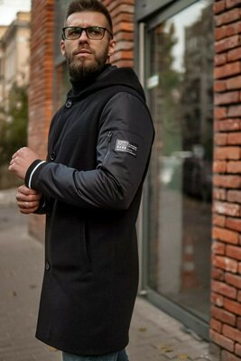 Мужская демисезонная куртка курточка пальто парка мужская стильная классная