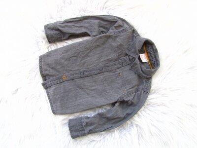 Качественная джинсовая рубашка Hema