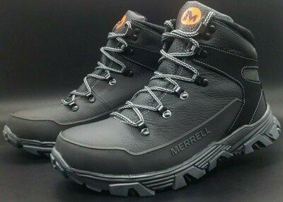 Продано: Спортивные мужские кожаные ботинки Merrell