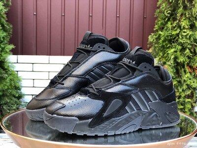Adidas Streetball кроссовки зимние мужские черные 9996