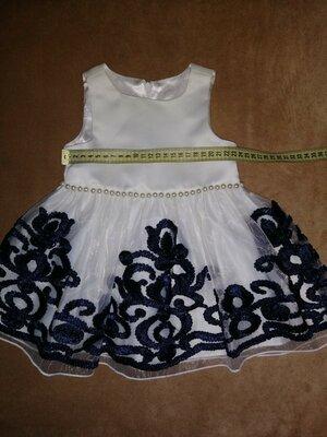 Нарядное платье с пышной юбкой, нарядное платье на девочку 1 год
