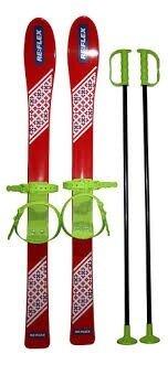 Набор лыжный детский RE FLEX 90 см лыжи с палками красный арт.256104