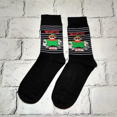 Носки мужские Новогодние, высокие носки, 41-46 р