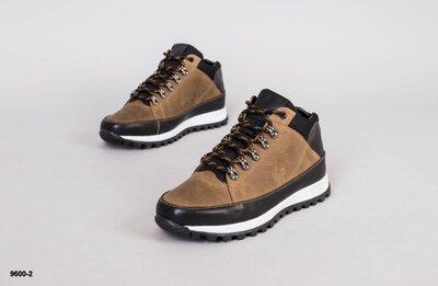Код 9600-2 з Мужские ботинки зима Размеры 36-45 Сезон зима Материал верха натуральная кожа Внутр