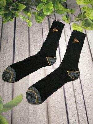 Носки мужские черные махровая стопа тонкий верх