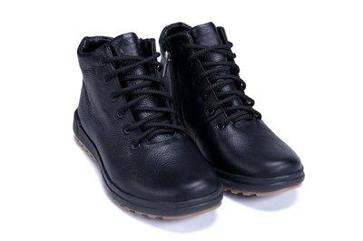 Мужские зимние кожаные ботинки, зимние мужские ботинки