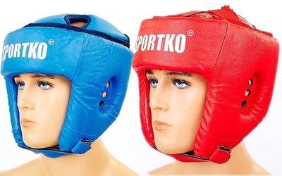 Шлем боксерский открытый Sportko OD1 шлем для бокса 2 цвета, размер L