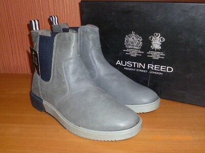 Демисезонные ботинки Аustin Reed Натуральная кожа