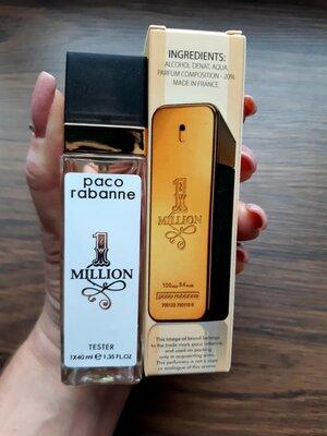 Продано: Мужская туалетная вода, парфюм, мини парфюм, тестер, духи, paco rabanne 1 Million