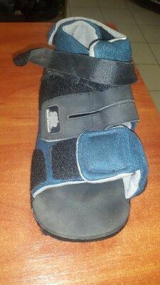 терапевтическая диабетическая обувь под гипс