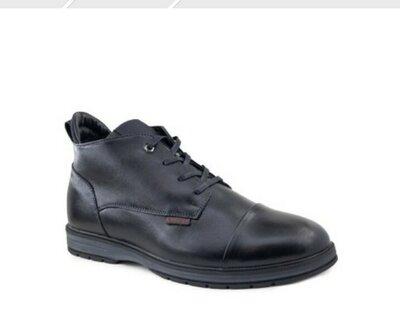 Ботинки зимние натуральная кожа кожаны