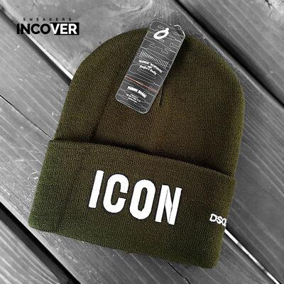 Мужские зимние шапки Dsquared.