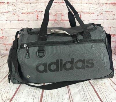 Спортивная сумка Adidas с отделом для обуви.Сумка для тренировок ,в спортзал.Дорожная сумка Ксс63-1