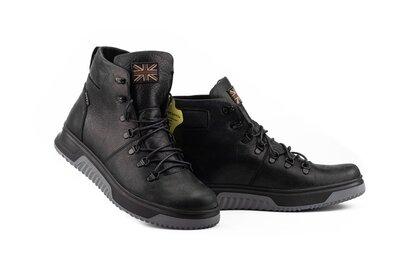 Мужские ботинки кожаные зимние черные Botus 8 Track