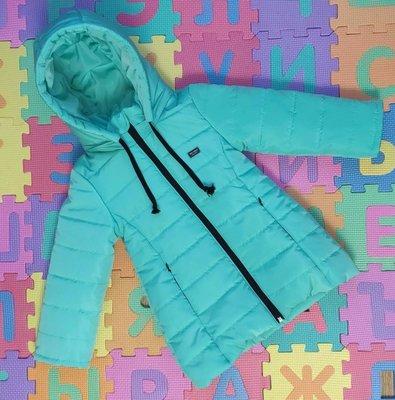 Куртка еврозима для девочек 3-9 лет, цвета разные