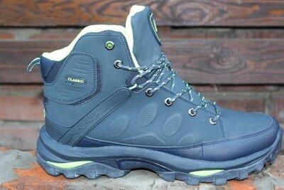 Зимние мужские ботинки кроссовки великаны BONA натуральная кожа р. 46-50