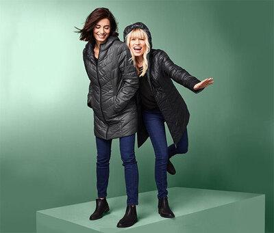 Пальто парка дутик Tchibo TCM куртка женская
