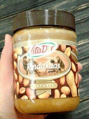 Арахисовая паста Vita D'or Pindakaas Арахисовое масло Vita D or Naturel Голландия 600g Арахисовая па
