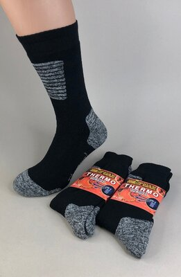 Чоловічі махрові термошкарпетки Heat Max Thermo Туреччина шо-HM-205