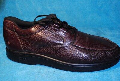 кожаные туфли sas 46 размер