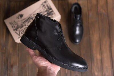 Продано: Мужские зимние кожаные ботинки из натуральной кожи VanKristi