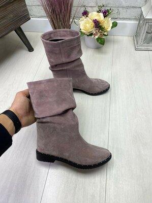 Отличное качество товара. Натуральные кожаные/замшевые женские осенние ботинки.