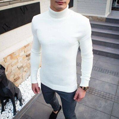 Мужской свитер-гольф