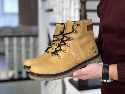 Качественные натуральные зимние ботинки, цвета в ассортименте