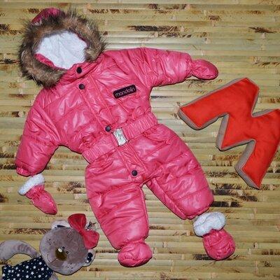 Акция Зимний комбинезон для новорожденного, Турция, качество люкс